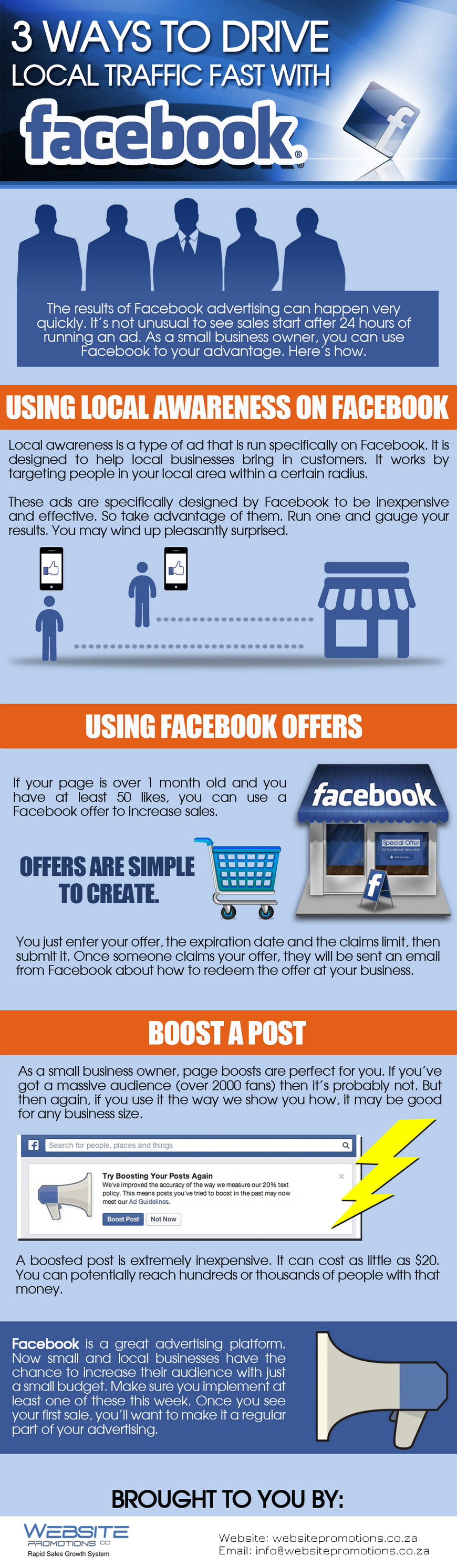 3 Ways to Drive Local Traffic Fast with Facebook